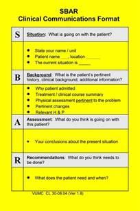 sbar template for nurses sbar nursing