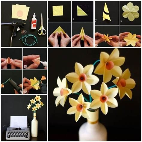 Diy Handcrafts - diy paper crafts diy easy paper daffodils new house