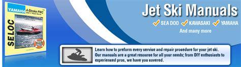 Jet Ski Manual Repair Service Shop Manuals