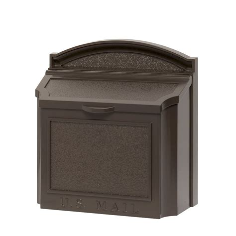 mailbox with whitehall products whitehall wall mailbox with removable