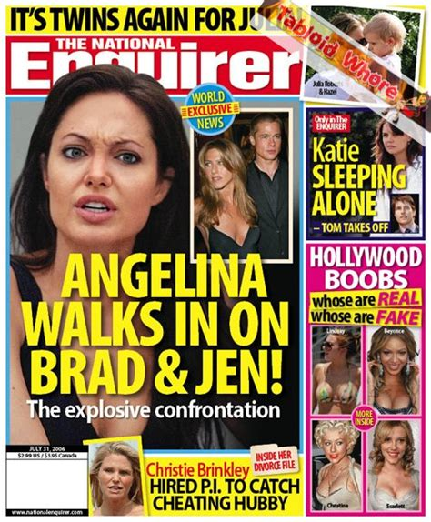 This Week In The National Enquirer Stepford by Tabloid This Week In The National Enquirer