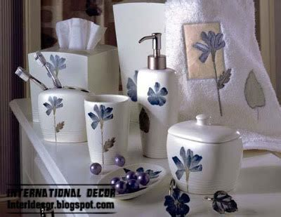 stylish bathroom accessories stylish bathroom accessories sets colors pieces