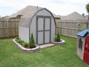 landscaping around shed landscaping pinterest nice