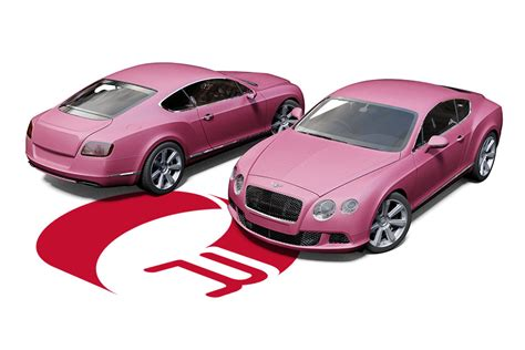 metallic pink bentley bentley continental gt wrap by reforma uk