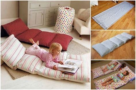 how to make a pillow bed wonderful diy pillow mattress for kids