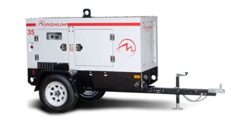 magnum mmg35 35kw mobile generator runyon equipment rental