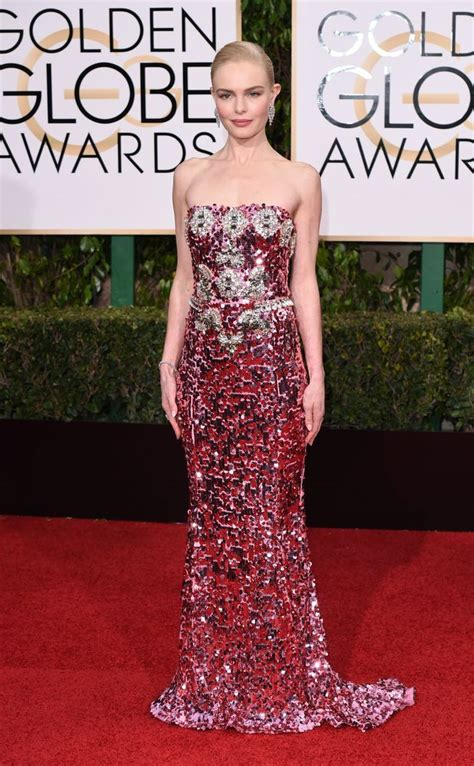 Catwalk To Carpet Kate Bosworth In Dolce Gabbana by Kate Bosworth Opted For A Shimmering Strapless Pink Dolce