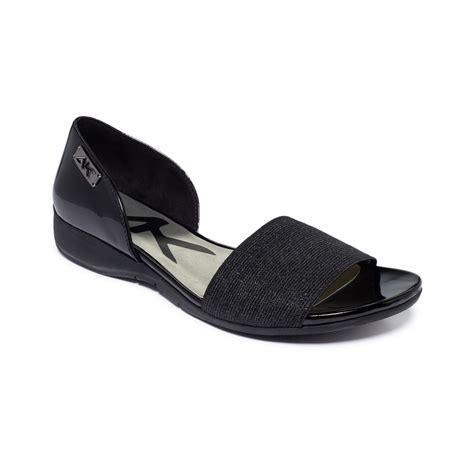 one sandal lyst klein keasha sport sandals in black