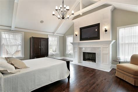 How High Should Bedroom Tv Be 43 Spacious Master Bedroom Designs With Luxury Bedroom