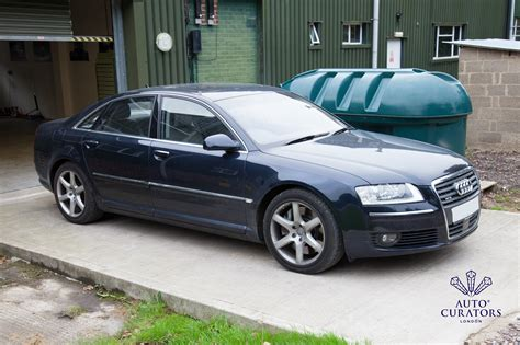 Audi W8 W12 by Audi A8 W12 Professional Detailing Transformation
