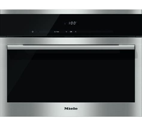 Oven Miele buy miele dg6100 compact steam oven black steel free