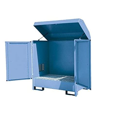 outside metal storage cabinets eurokraft steel outdoor drum storage cabinets