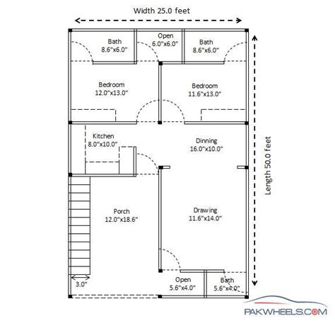 construction plan of house