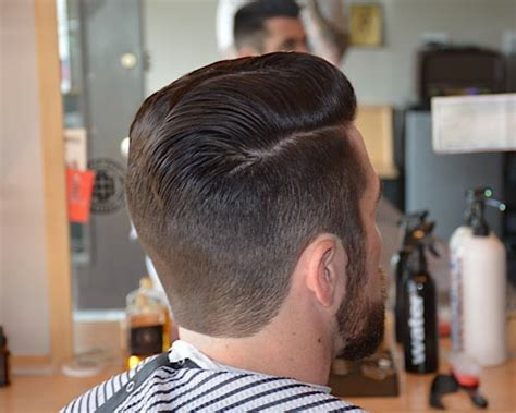sun haircut design back of head beard grooming plus fresh cuts by barber brian burt