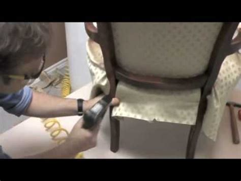 how to upholster an armchair upholstering a bergere chair youtube
