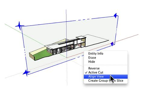sketchup sections retired sketchup blog quick and dirty poch 233 for sectional