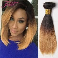 good cheap hair weave to use for bob hairstyles cheap 1b 27 30 ombre brazilian virgin straight hair 3