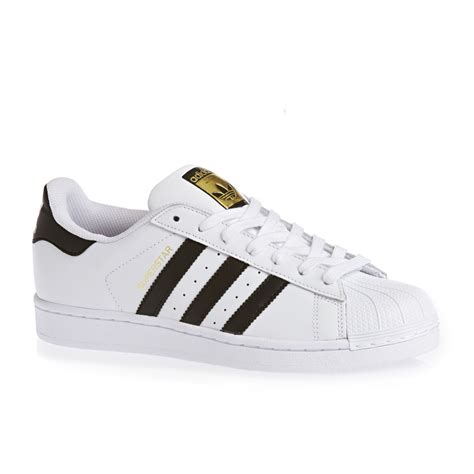 adidas originals superstar shoes white black white free delivery