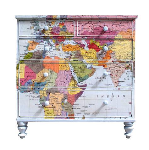 Map Chest Of Drawers by Map Chest Of Drawers By Bryonie Porter