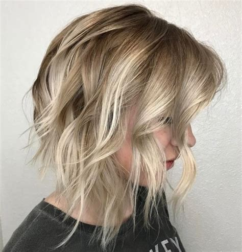 how to get the shaggy lob 40 banging blonde bob and blonde lob hairstyles