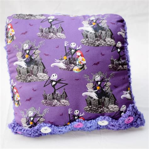 nightmare before pillow fabric and by peacefultyme