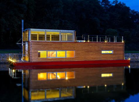 modern house boat thesayboat modern houseboat design milk