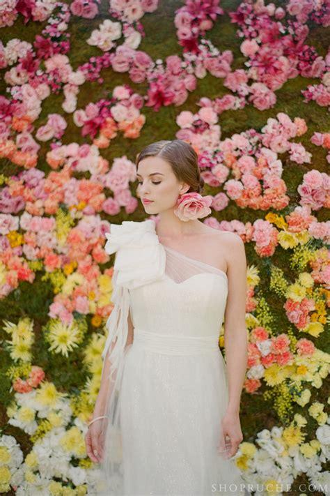 Wedding Backdrop Yellow by Enchanted Wedding Backdrop Of Yellow Orange Pink Blooms