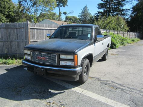 automotive air conditioning repair 1993 gmc jimmy transmission control 1993 gmc 1500 short bed 2wd 350 auto air choo choo custom no reserve for sale in abington