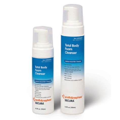 Smiths Detox Mouthwash by Secura Total Foam Skin Cleanser Dispenser 8 5oz No