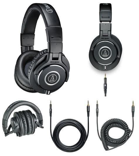 Audio Technica Ath M40x Professional Headphone Hitam usb microphone binaural microphone stereo microphone