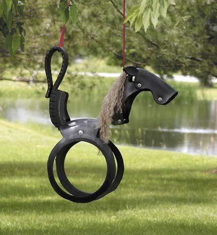 how to make a tire horse swing tire art on pinterest recycled tires tire furniture and