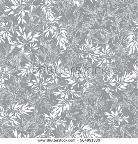 grey wallpaper with leaves vector grey blossom branches leaves summer stock vector