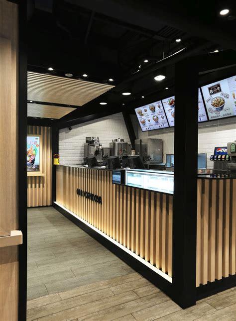 yoshinoya fast food restaurant   design service