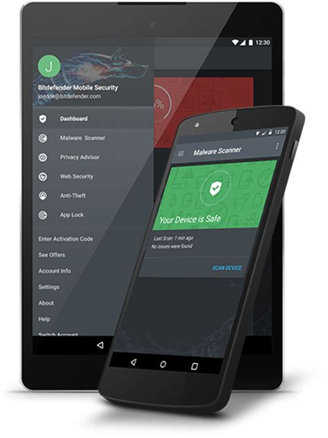 mobile security bitdefender mobile security antivirus for android devices