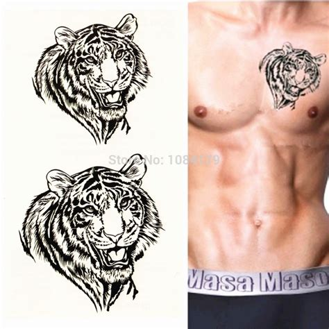 chest tattoo temporary asia traditional designs for men sexy temporary tattoo