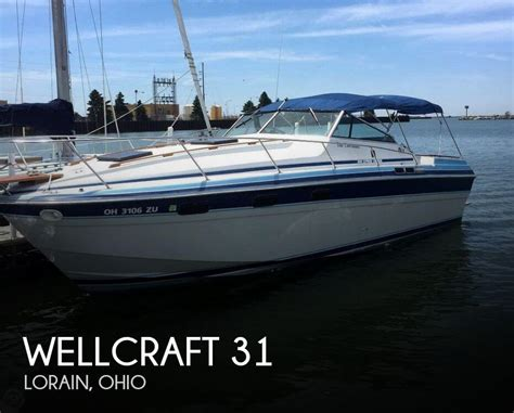 boats for sale lorain ohio wellcraft 31 boat for sale in lorain oh for 18 000