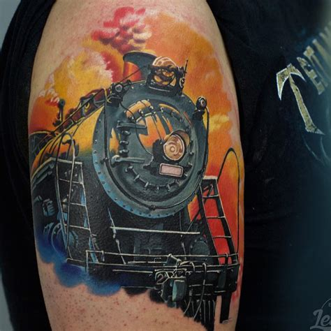 steam train tattoo designs steam best ideas gallery