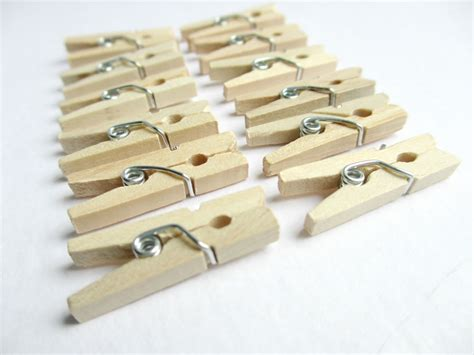 laundry clip 25 mini clothespins miniature clothespins mini clothes