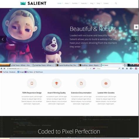 themeforest salient themeforest salient review bad