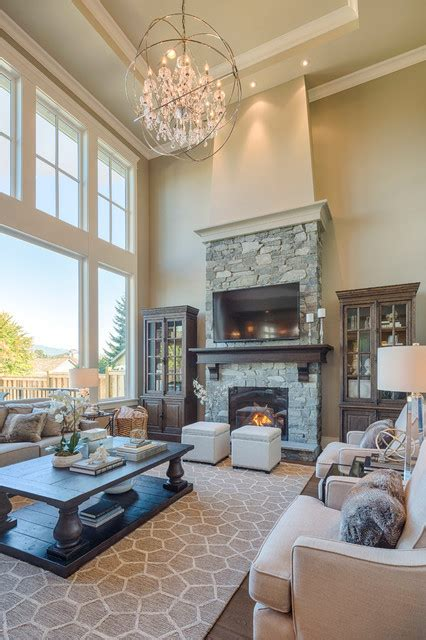 2 story living room decorating ideas new west classic traditional living room vancouver by clay construction inc