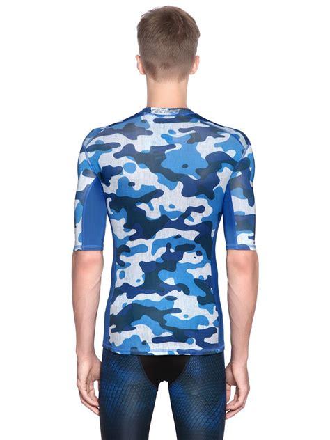 Tshirt Insight Pria Original 6 adidas originals techfit compression t shirt in blue for lyst