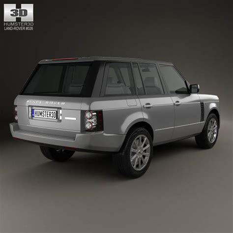 land rover 2009 models land rover range rover supercharged 2009 3d model humster3d