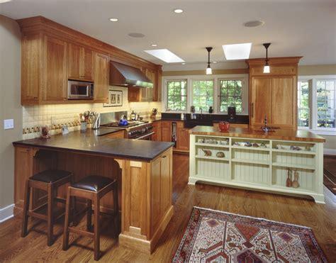 Kitchen Peninsula Beadboard Mill House Kitchen Traditional Kitchen New York By