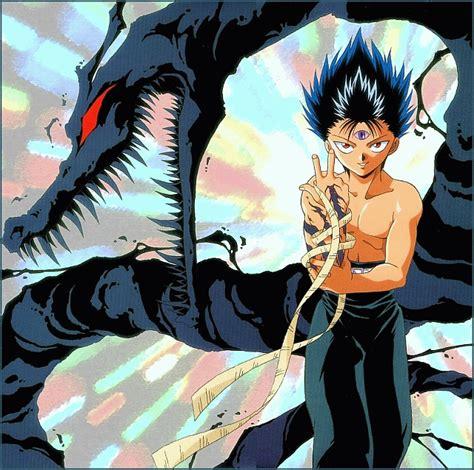 goku raditz fight vs yusuke urameshi and hiei end of