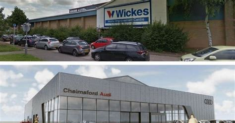 wickes in chelmsford is set to become an audi showroom and