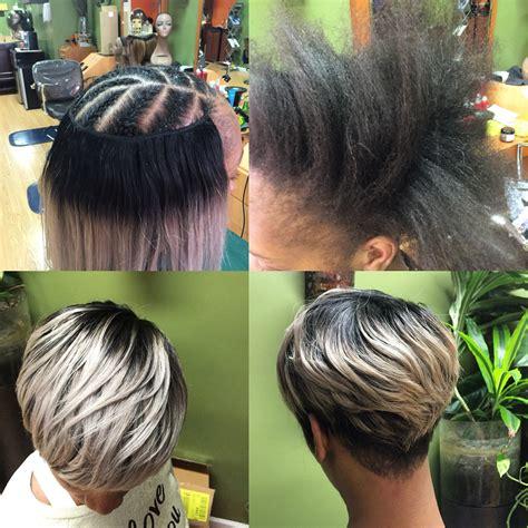 shrt hair styles bowl cut with sew jns short sewin weave short hair pinterest shorts