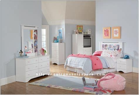 Kursi Salon Putih Pink Keungunan kamar tidur set anak model minimalis putih putra mebel