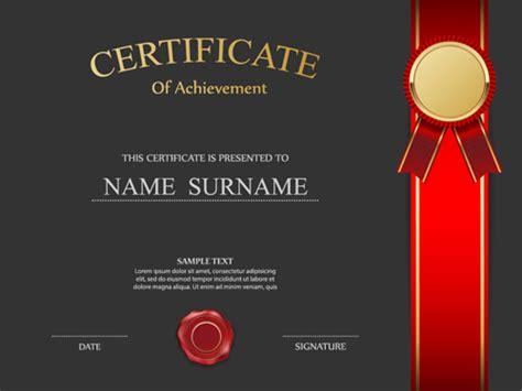 honor certificate creative design vector 04 vector cover