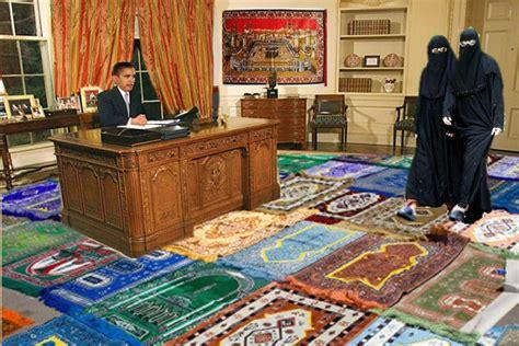 obama muslim prayer rug oval office rug gets history wrong