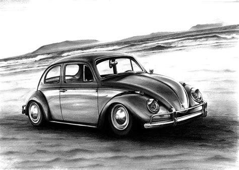 volkswagen drawing volkswagen beetle drawing by racing is my on